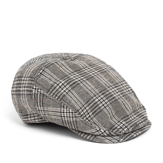 와일드브릭스BPG CHECK HUNTING CAP (grey)
